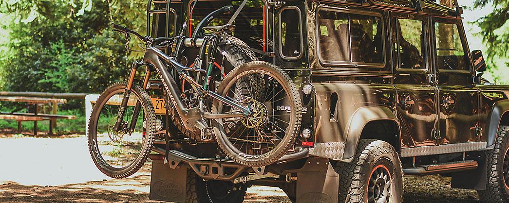 PIAA Land Rover Defender with Specialized S-Works