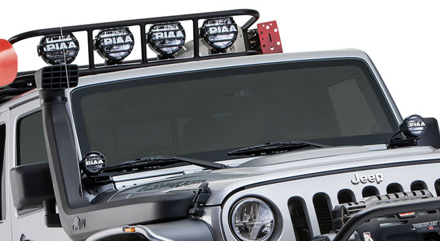 Jeep JK LP Series LED Lights