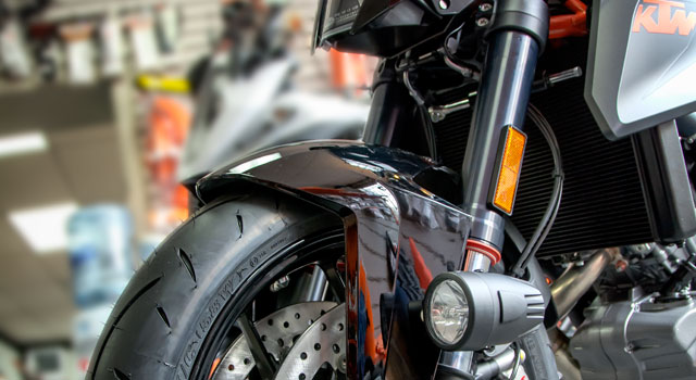 KTM Super Duke LED Lights