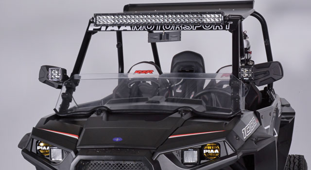 RZR Quad Dual Row LED Lightbar