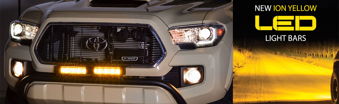 PIAA Ion Yellow LED Light Bar