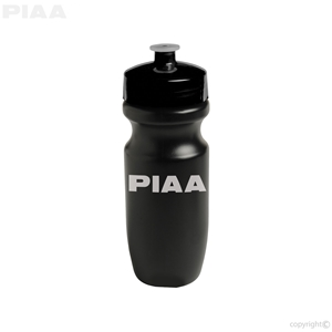 PIAA Black Plastic Water Bottle (BPA Free)