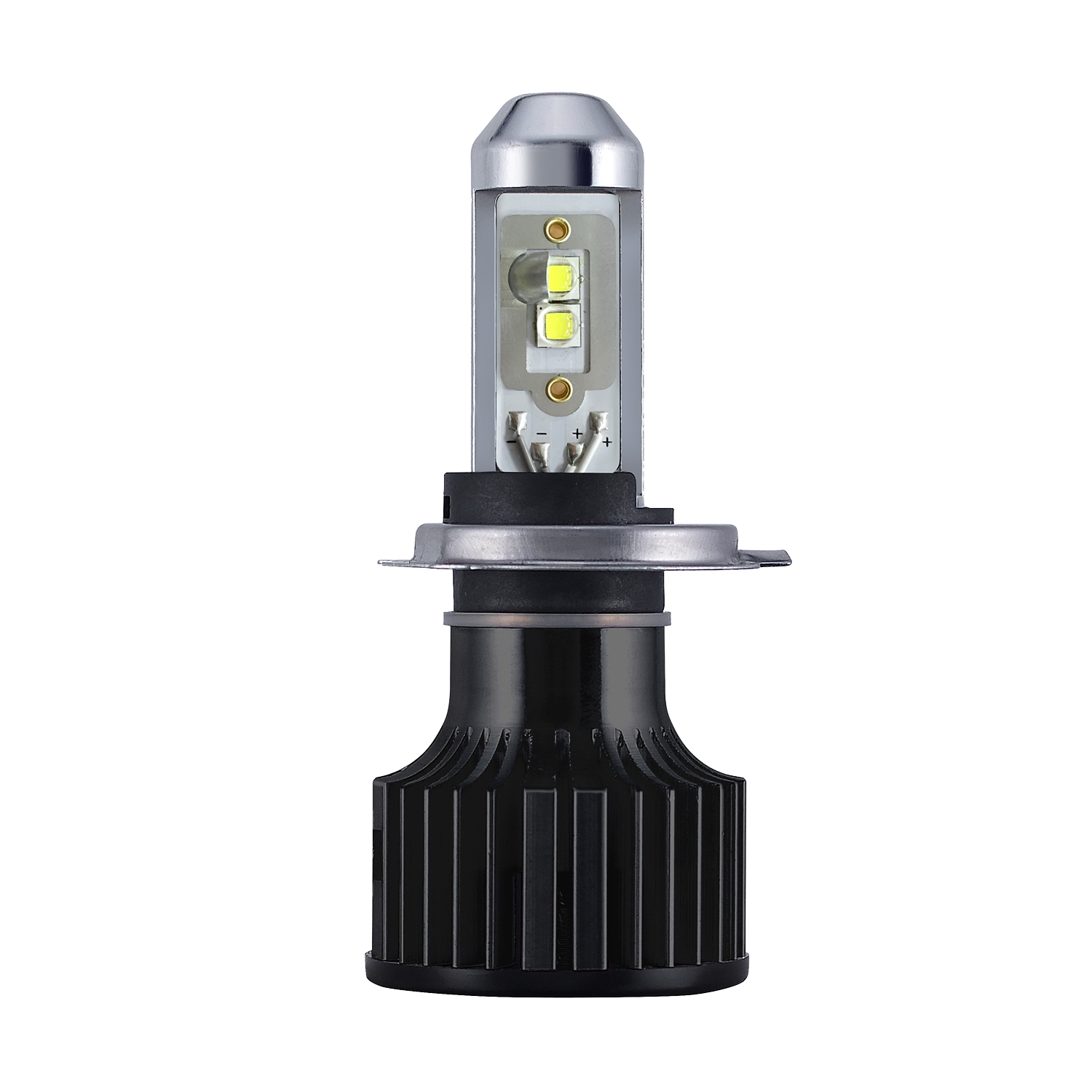 h4 high output led motorcycle bulb 6000k