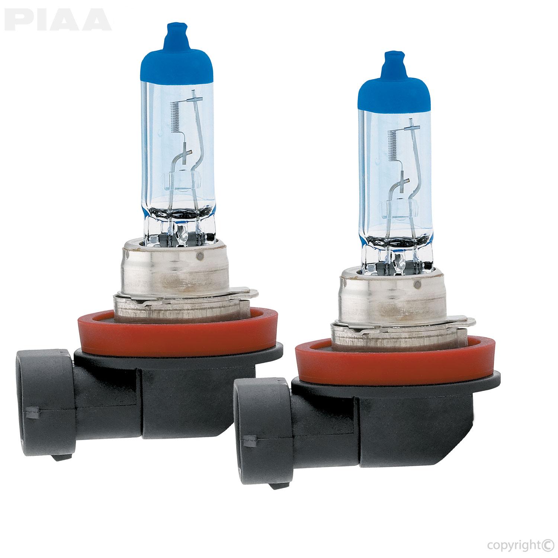 Piaa H11 Xtreme White Plus Twin Pack Halogen Bulbs 15211