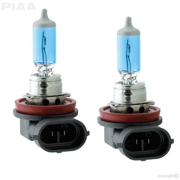 PIAA H8 Xtreme White Bulbs Dual