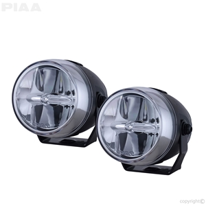 PIAA LP270 LED White Wide Spread Fog Beam Kit led, led lights, lamps, leds, fog lights, driving lights, led lamps