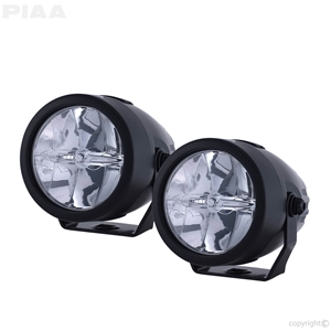 PIAA Small Round LED Lights