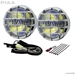 520 Chrome Ion Yellow Fog Halogen Lamp Kit - 05261