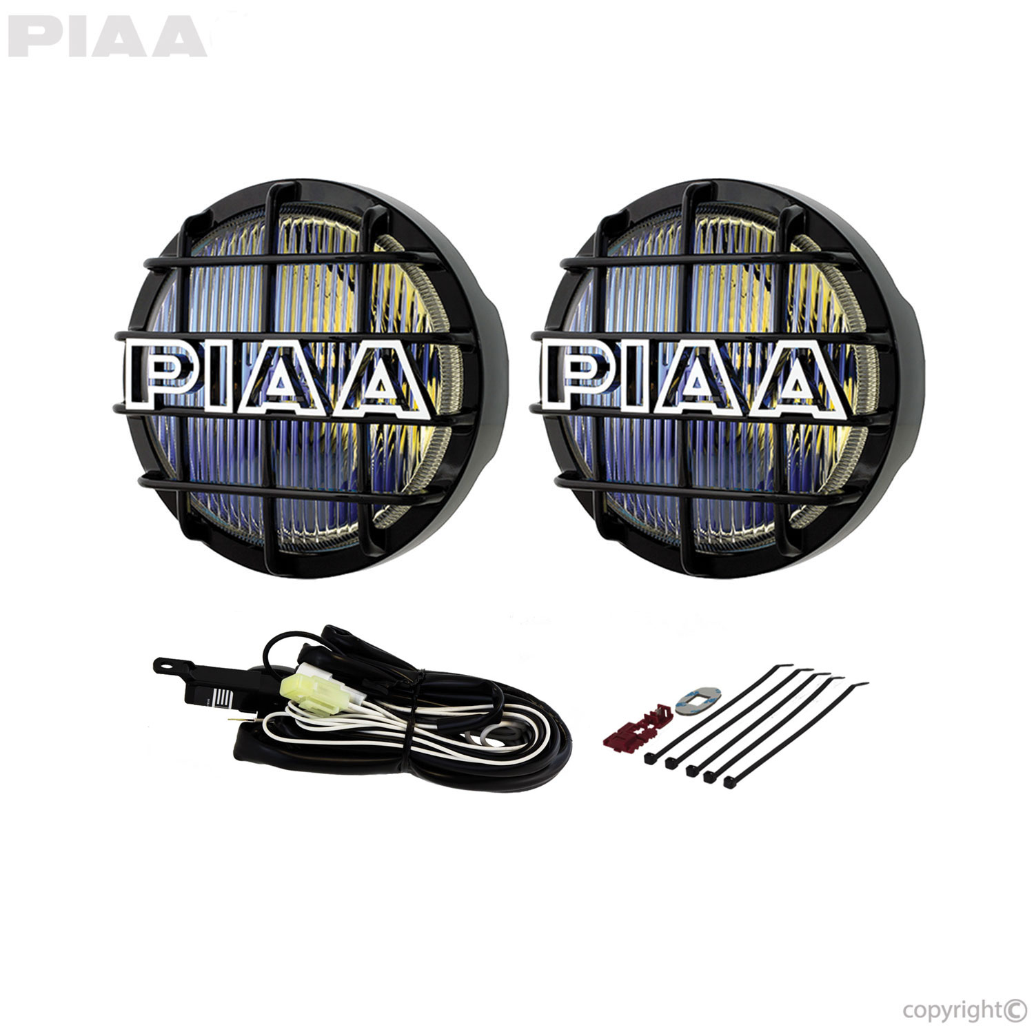 Piaa 520 Ion Yellow Fog Halogen Lamp Kit 05291 Light Wiring Diagram Also A Switch To Led Flood Lights
