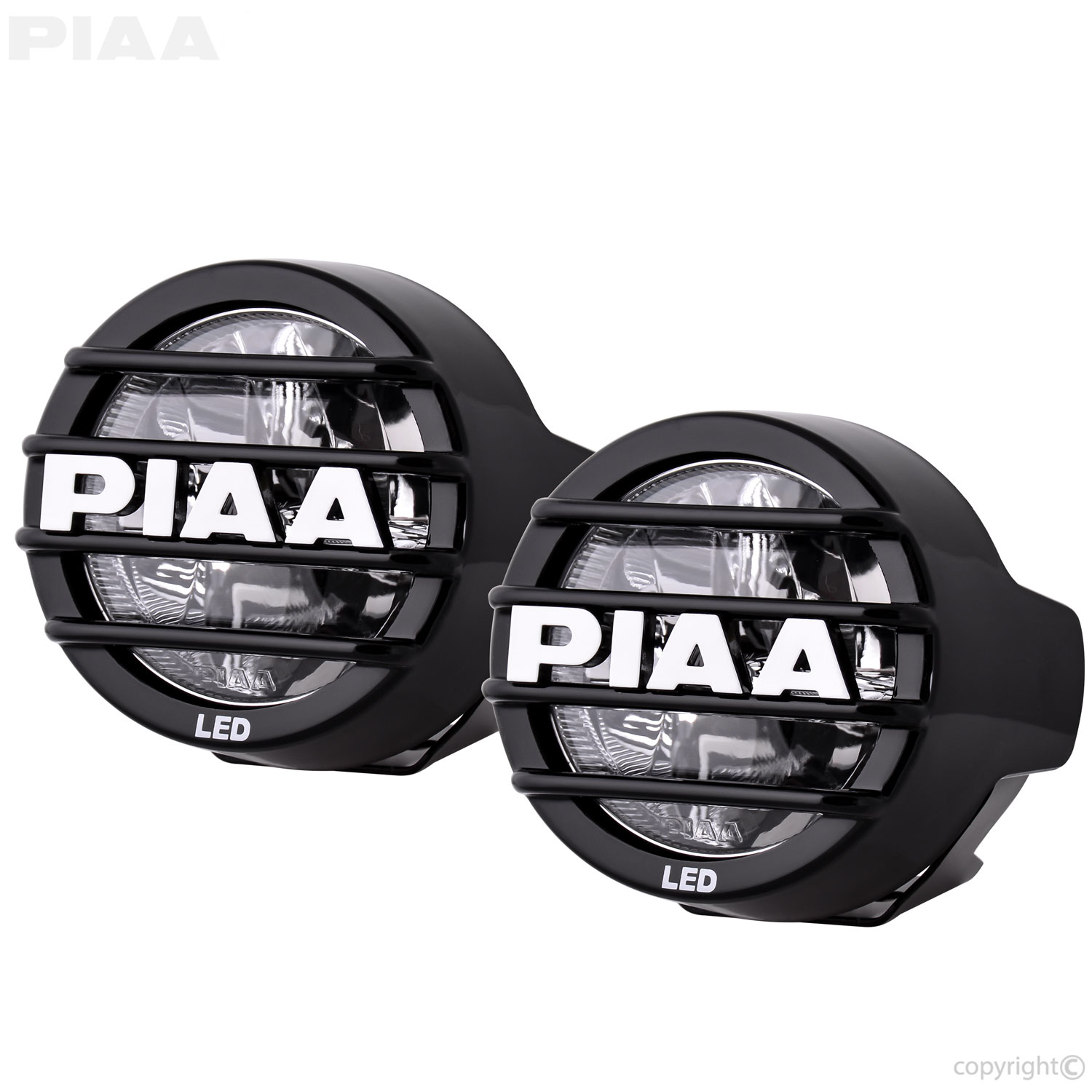 Great PIAA LP530 LED White Wide Spread Fog Beam Kit   5370 ...