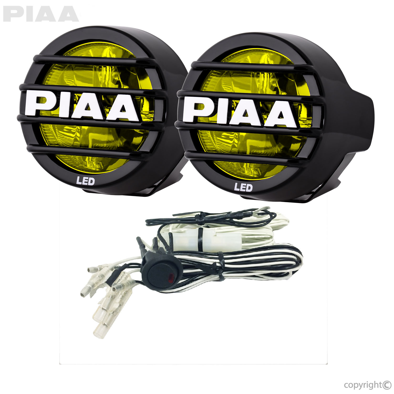 Lp530 Led Wiring Harness Simple Diagram Equipment Piaa Yellow Driving Beam Kit 22 05372 Utv Whips