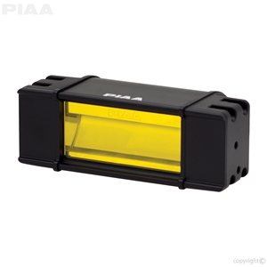 "PIAA RF Series 6"" LED Light Bar Yellow Fog Beam Single, SAE Compliant led, led lights, lamps, leds, fog lights, driving lights, led lamps"