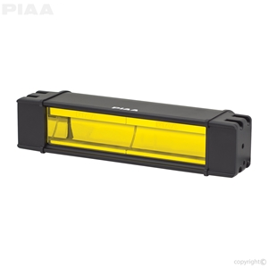 "PIAA RF Series 10"" LED Light Bar Yellow Fog Beam Single, SAE Compliant led, led lights, lamps, leds, fog lights, driving lights, led lamps"