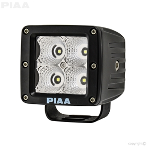 Quad Series Flood Beam LED Cube Light Single