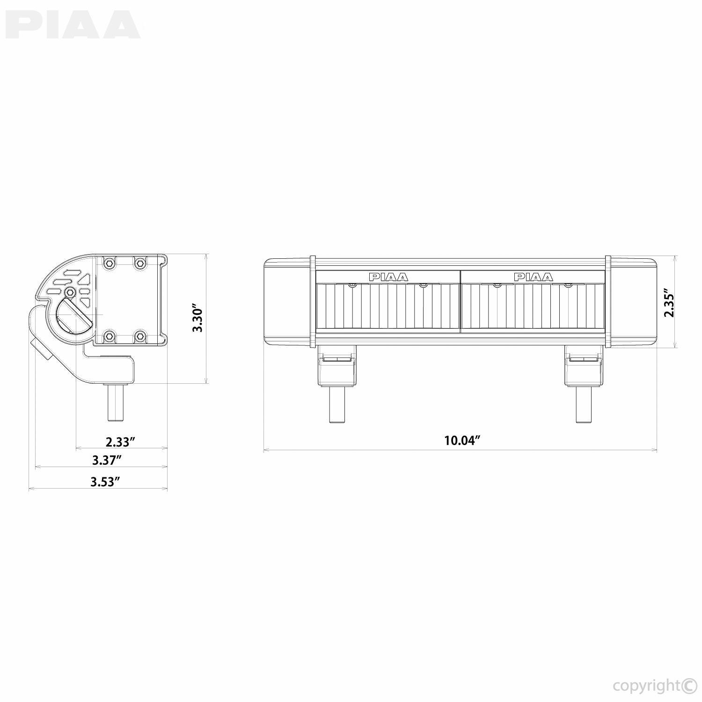 piaa piaa rf10 10 white long range driving beam 7610 rh piaa com Chevy Wiring Harness Car Wiring Harness