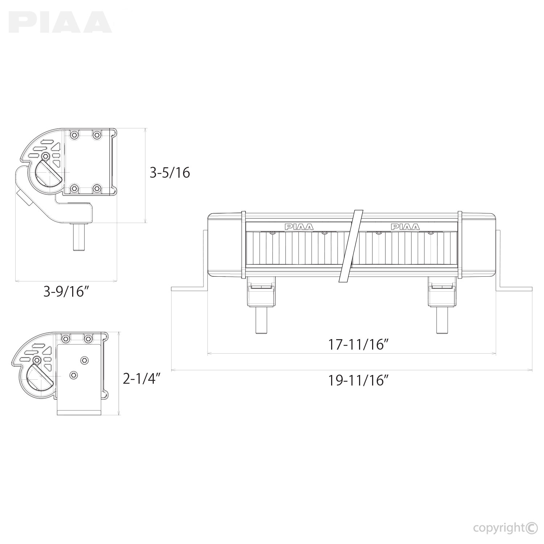 Piaa Wiring Harness Diagram PIAA 1100 Wiring Diagram Lamp