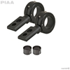 "360 Black Universal Mounting Bracket Kit, Fits 1.5"" & 1.75"" Bars"