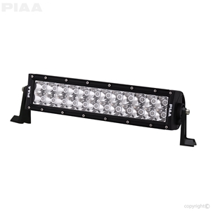 PIAA Quad 12inch LED Light Bar Angle