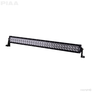 PIAA Quad 30inch LED Light Bar Angle