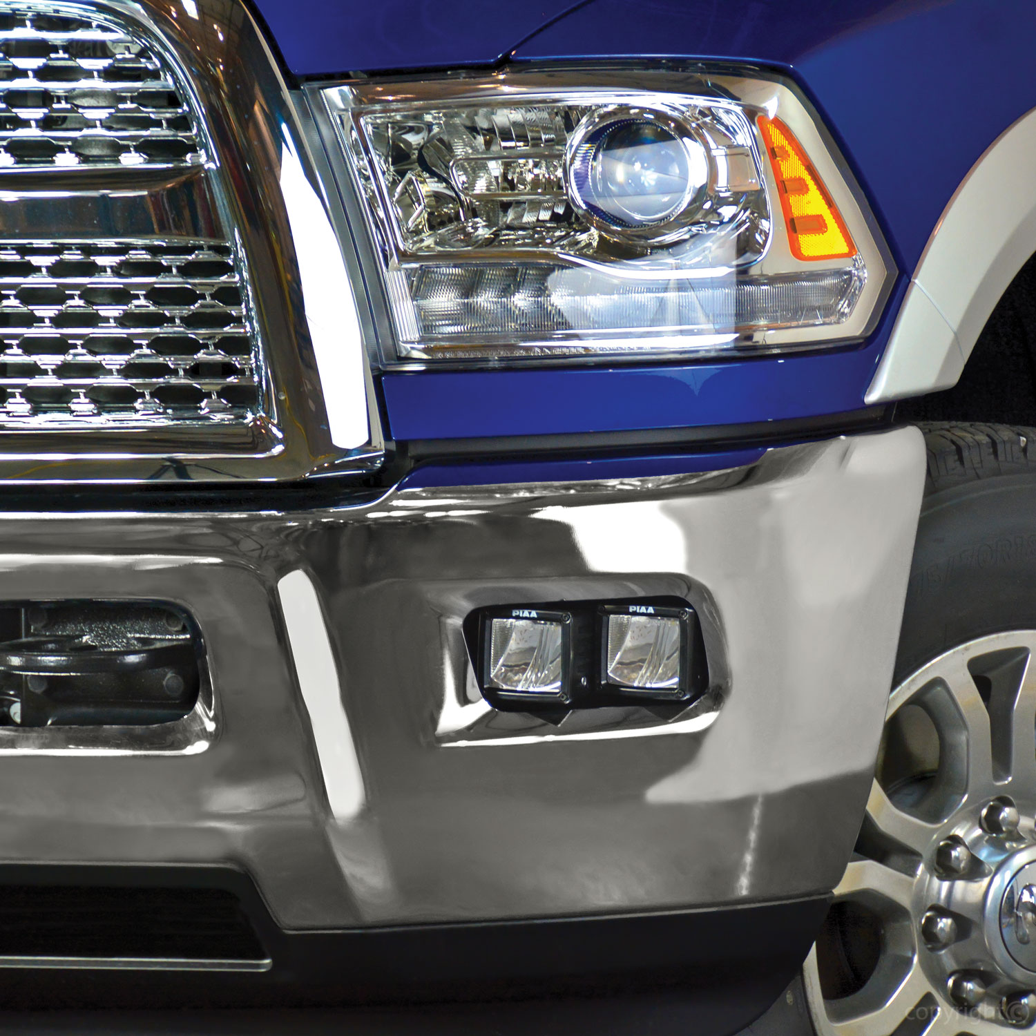 PIAA | Dodge Ram 2010+ HD 2500/3500 Fog Light Mounting ...