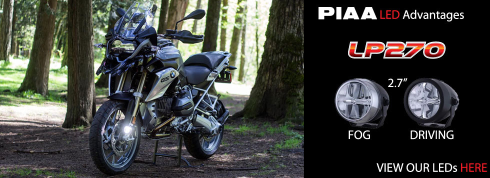 BMW 650GS LED Lights