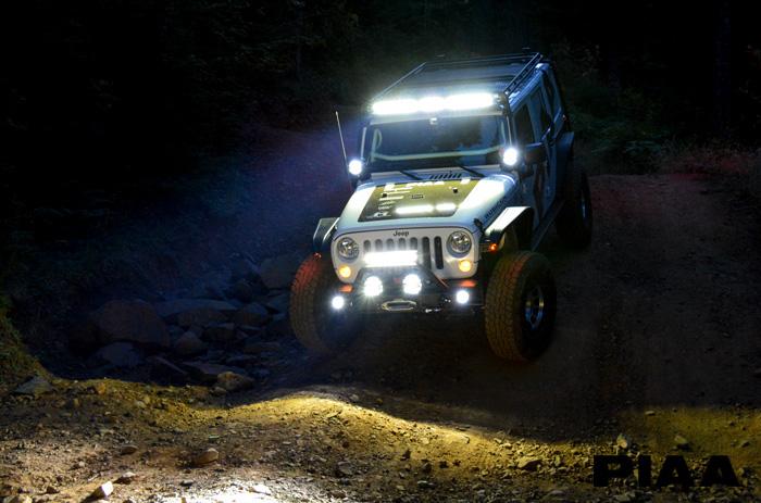 2015 Jeep Rubicon Piaa Build