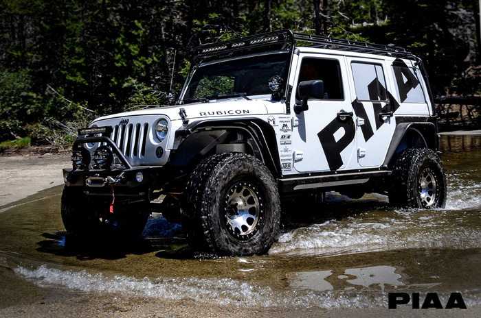 2015 Jeep Rubicon PIAA Build