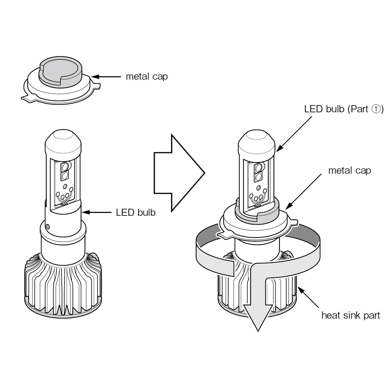 H4 Headlight Bulb Wiring Diagram from www.piaa.com