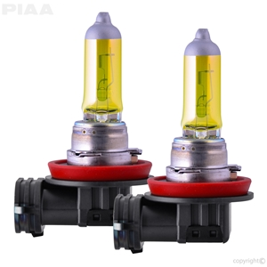 H11 Solar Yellow Twin Pack  Halogen Bulbs H11 Plasma Ion Yellow Twin Pack  Halogen Bulbs