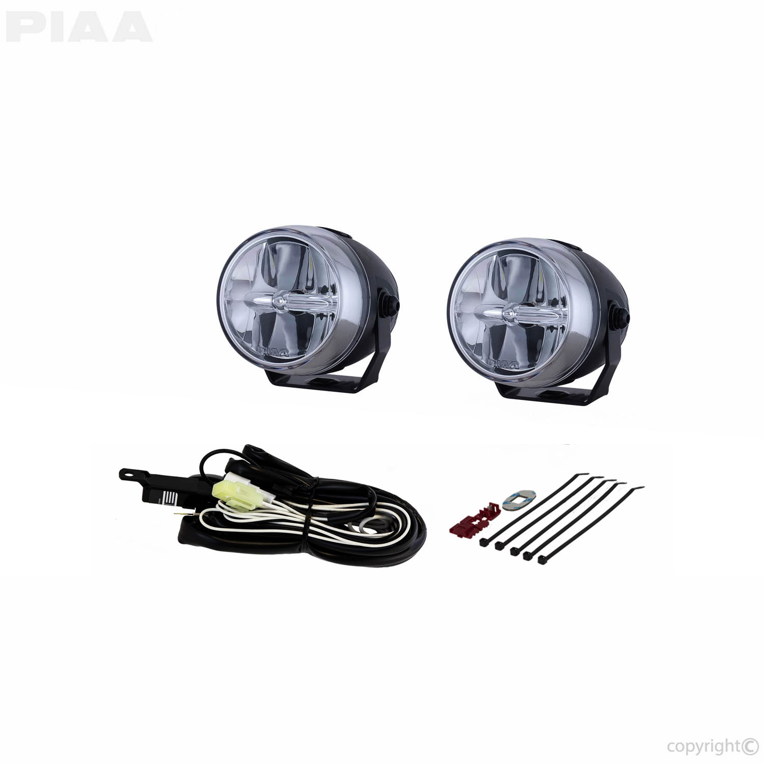 "LP270 2.75"" LED Fog Light Kit, SAE Compliant - 02770"