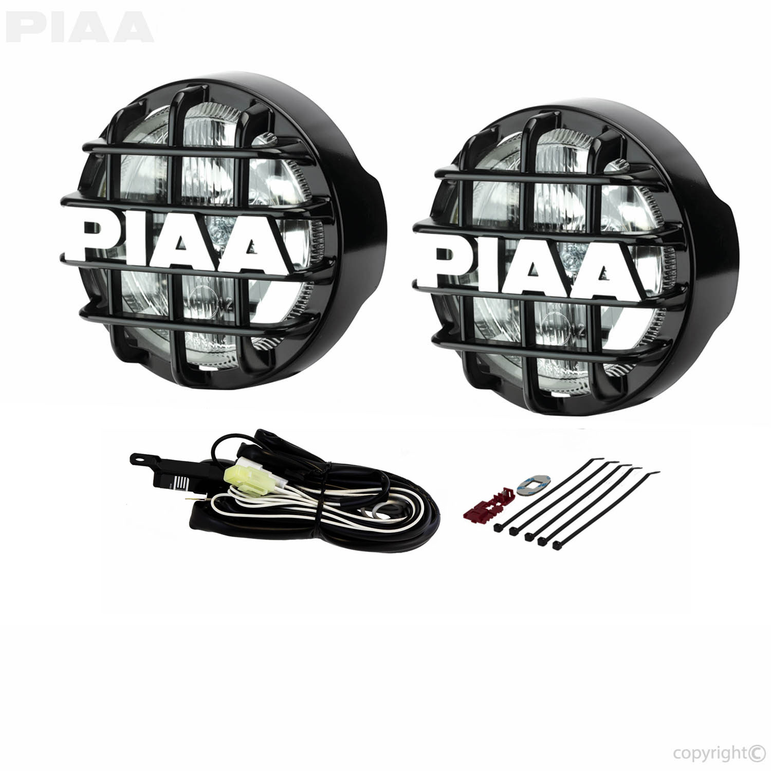 Piaa Wiring Harness 55 Watt Free Diagram For You Universal Kit 510 Super White Driving Lamp 05164 Rh Com Scosche Fog Light