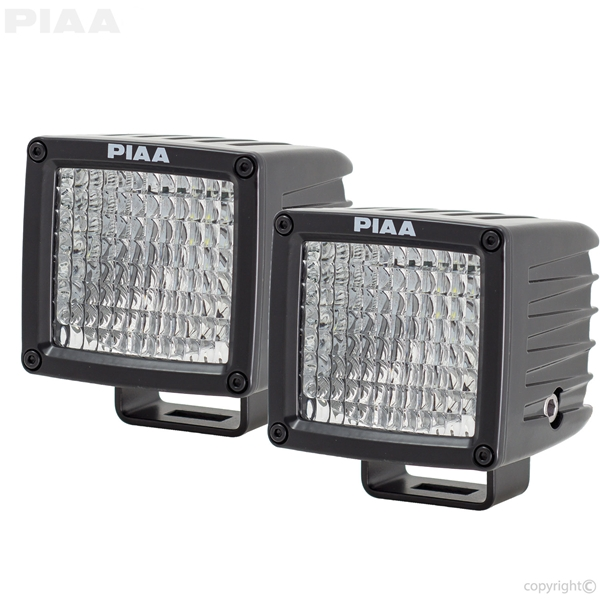 PIAA RF3 Flood Beam LED Light Dual View
