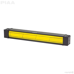 "PIAA RF18 18"" Ion Yellow Wide-Spread Fog Beam led, led lights, lamps, leds, fog lights, driving lights, led lamps"