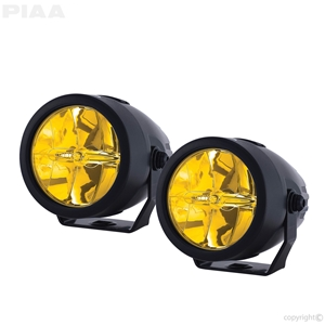 "Yamaha LP270 2.75"" Ion Yellow LED Driving Light Kit led, led lights, lamps, leds, fog lights, driving lights, led lamps"