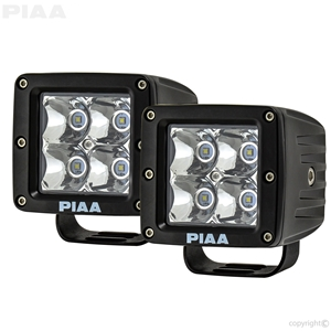 "Yamaha Quad Series 3"" LED Cube Light Driving Beam Kit  led, led lights, lamps, leds, fog lights, driving lights, led lamps"