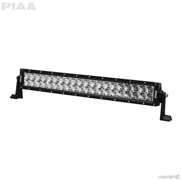 PIAA Quad 20inch LED Light Bar Angle