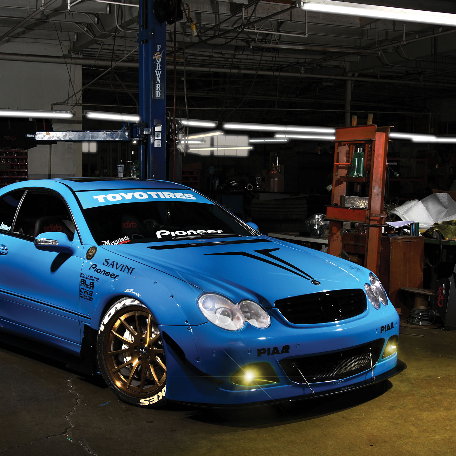 PIAA H16 Yellow LED Bulbs Mercedes Fog Lights