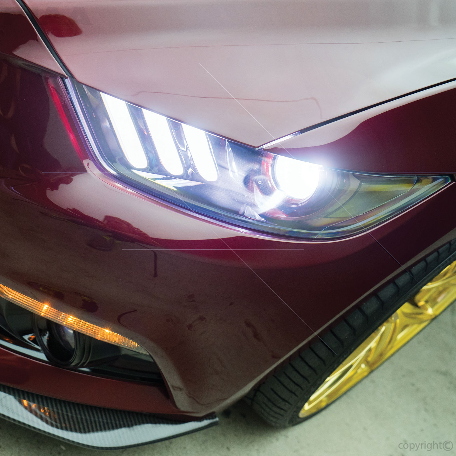 PIAA H11 LED Bulb Mustang Headlight