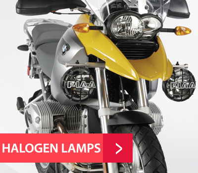 PIAA Halogen Motorcycle Lamps