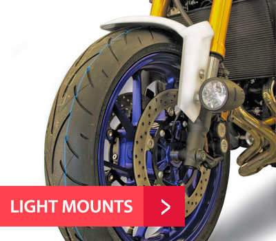 PIAA Motorcycle Light Mounts