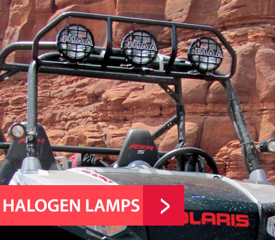 PIAA Halogen ATV UTV Lamps