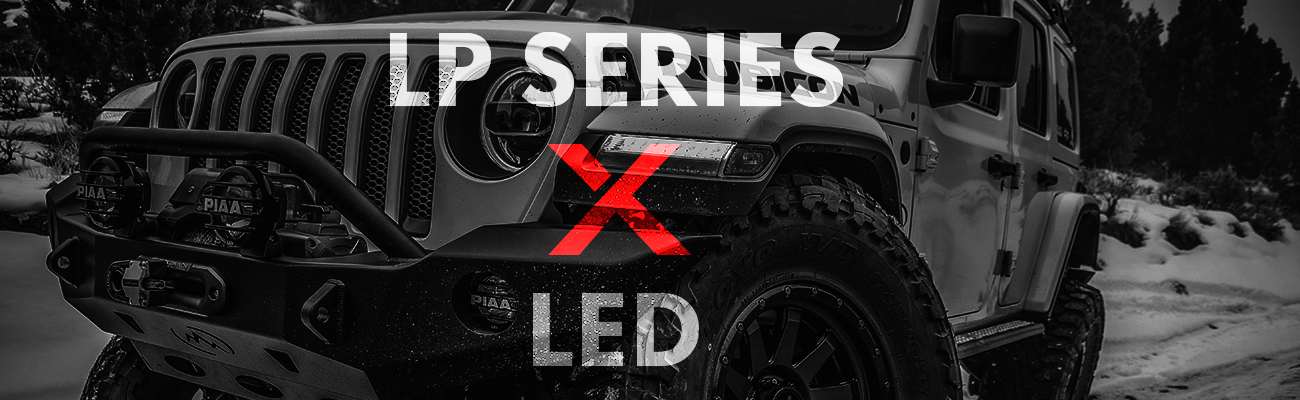 PIAA LP Series LED Lights